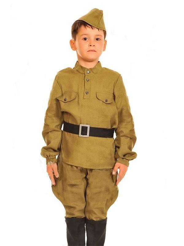 Костюм солдата вов для мальчиков своими руками