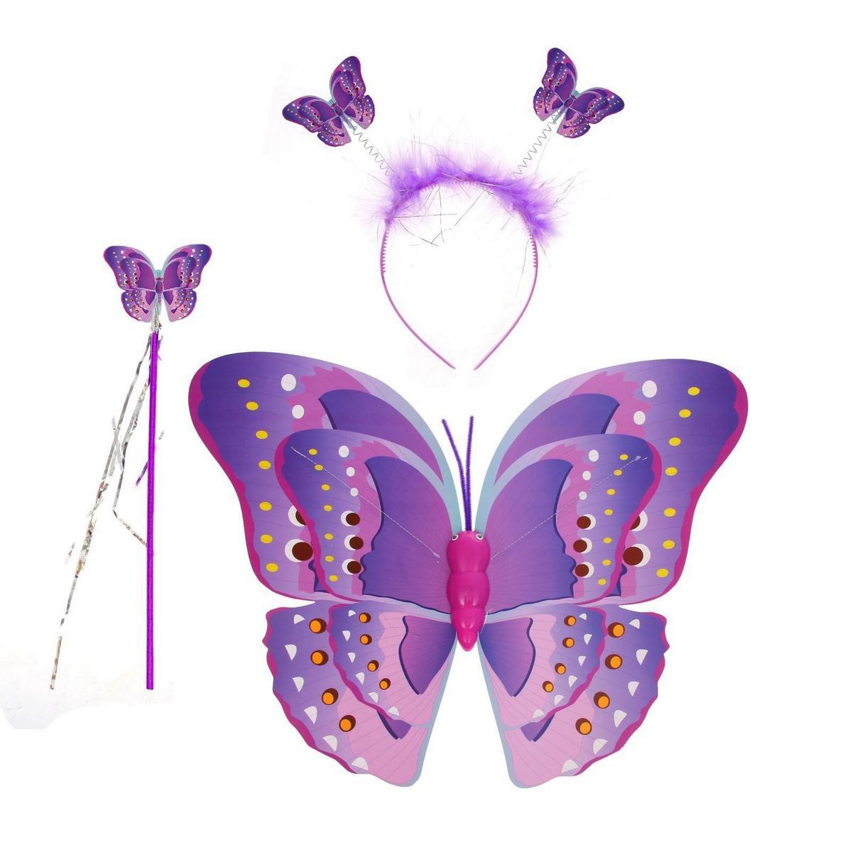 Ободок для костюма бабочки