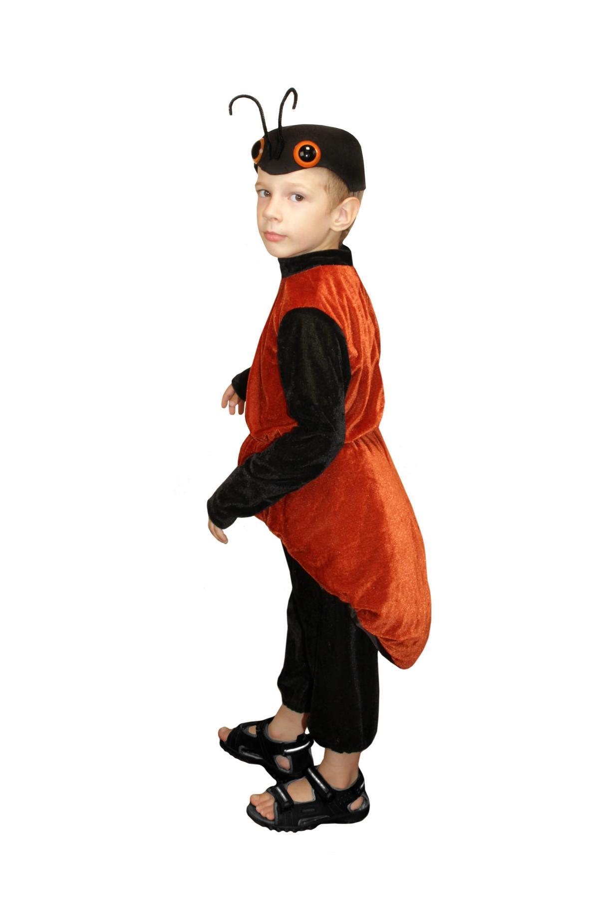 Костюм муравья для мальчика своими руками фото