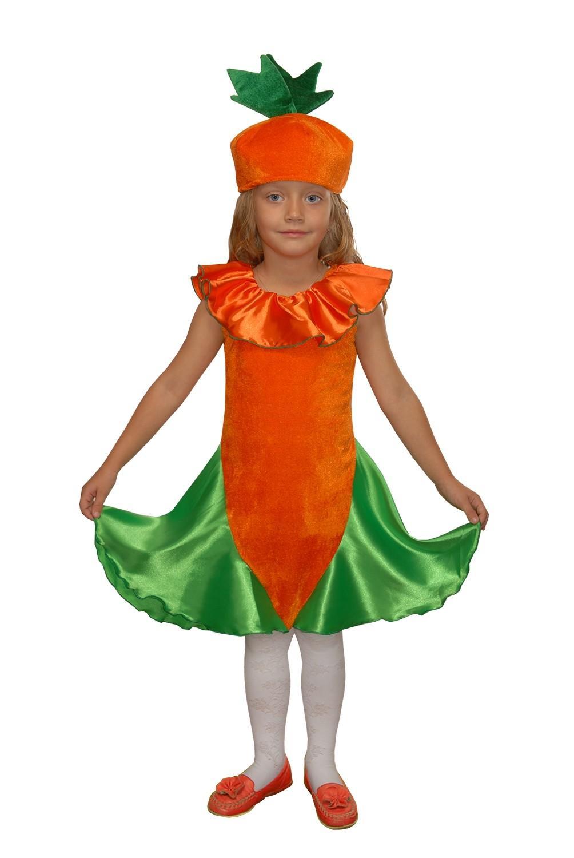 Костюм морковки фото своими руками