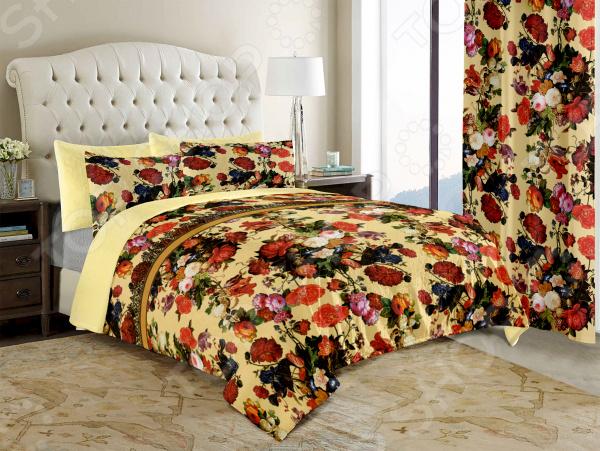 Покрывало на кровать в стиле прованс