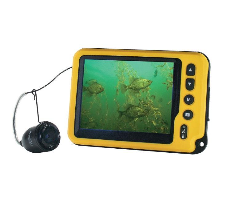 эхолот и камера подводная лодка