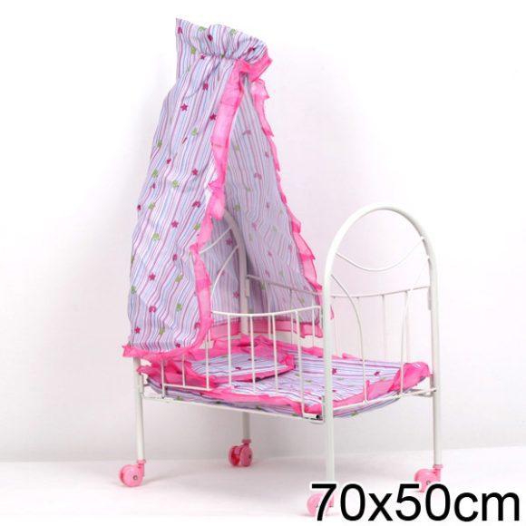 Как сделать балдахин для кроватки куклы