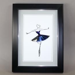 Объемная картина балерина