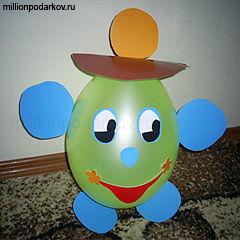 Игрушки из воздушных шаров (118 фотографий, 4,6 мб