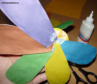 Как сделать лепестки семицветика 432