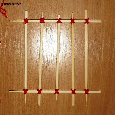 Поделка из палочек для суши своими руками фото