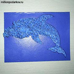 Поделка дельфин своими руками