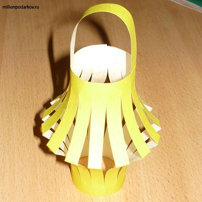 Как сделать фонарик из бумаги своими руками 31