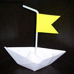 Поделки из бумаги на 8 марта кораблики