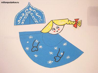 Схема снегурочки поделки своими руками