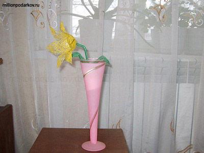 Поделка цветок своими руками - Поделки