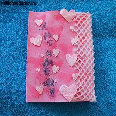 Поделка ко дню валентина открытка