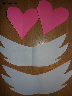 Из бумаги к дню святого валентина