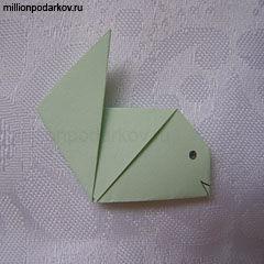 Поделки из бумаги простые без клея