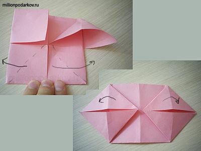 бумаги оригами «Свинья»: