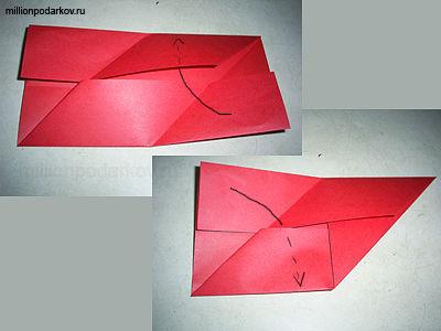 Поделка из бумаги оригами своими руками