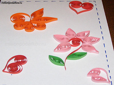 Цветочная фантазия поделки из бумаги 34