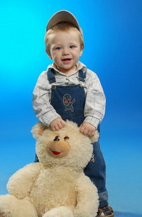 мал 1 год 2 с мишкой обр