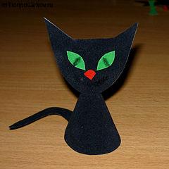 Кошка из бумаги своими руками фото 543