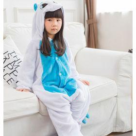 Пижама кигуруми единорог для детей (110 размер (длина изделия до плеч - 95  см  объем груди - 92 см  плечи - 42 см  рукав - 43 6eb23fc060abf