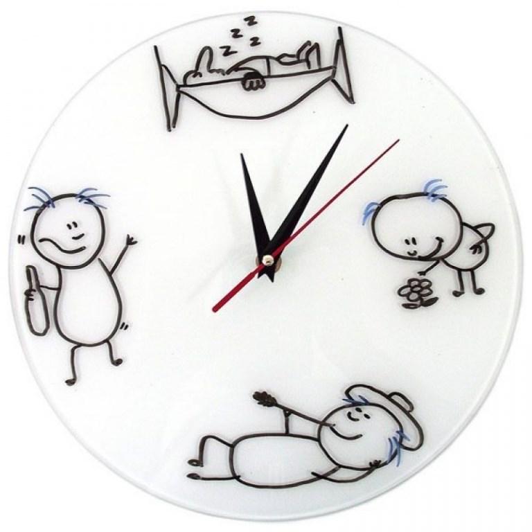 Прикольные картинки часы