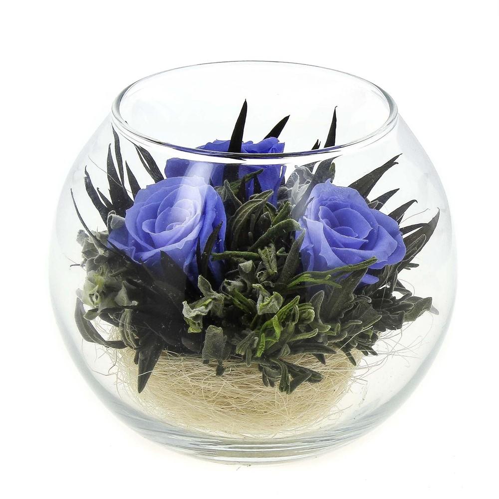 Букет живых, стабилизированные цветы спб купить