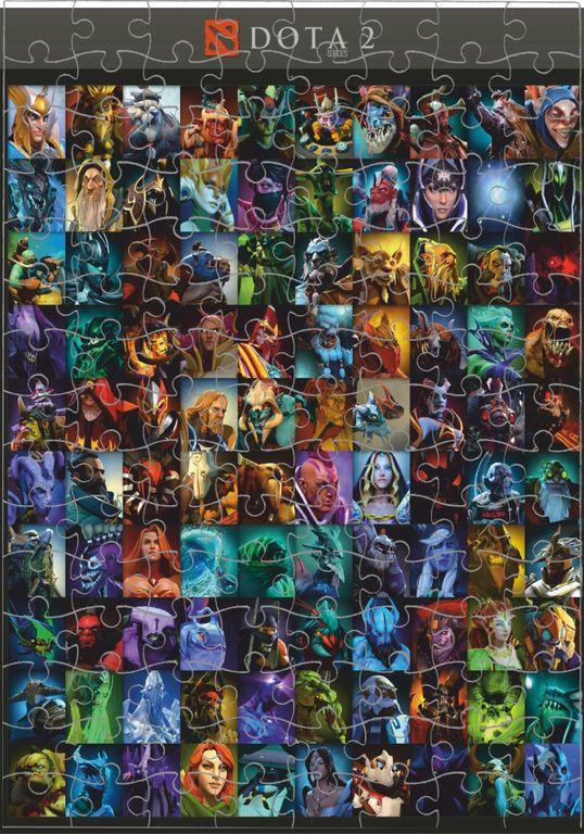 Сборки героев доты в картинках