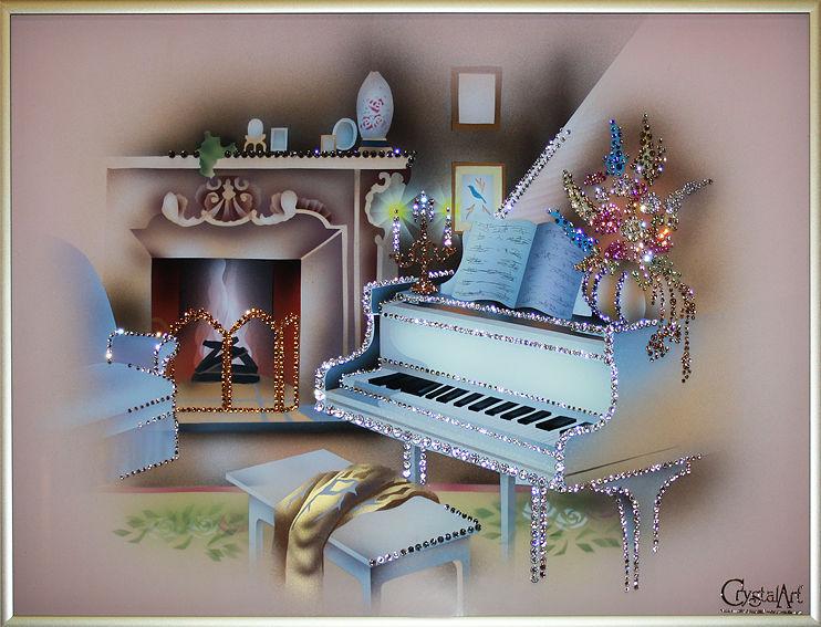 боке с новым годом рояль открытка открываюсь каждой