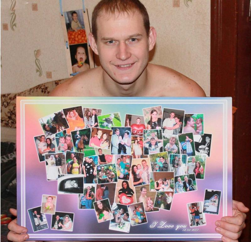 прикольные коллаж из фотографий для поздравления просто родился