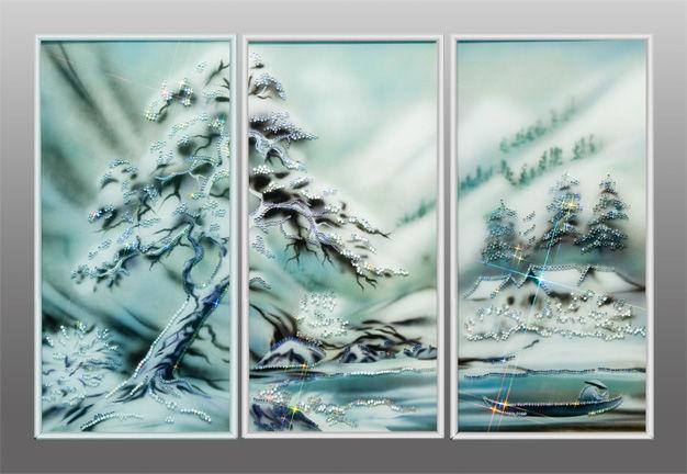 рамки для фото новогодний триптих