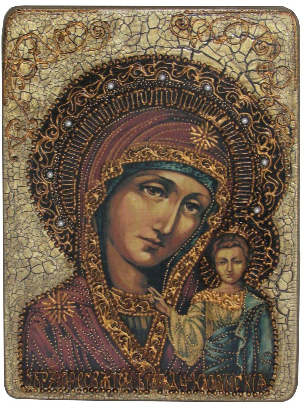 Икона Казанской Божьей Матери в Южно-Сахалинске