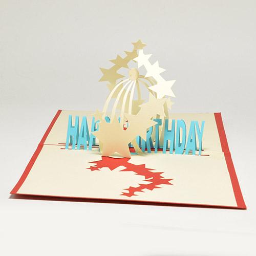 Прикольные картинки, легкие объемные открытки ко дню рождения