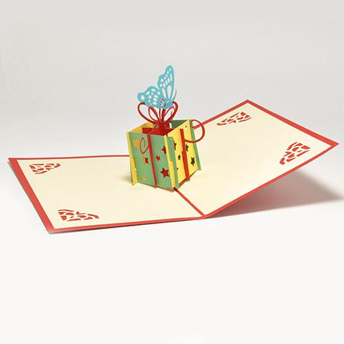 Необычные объемные открытки с днем рождения