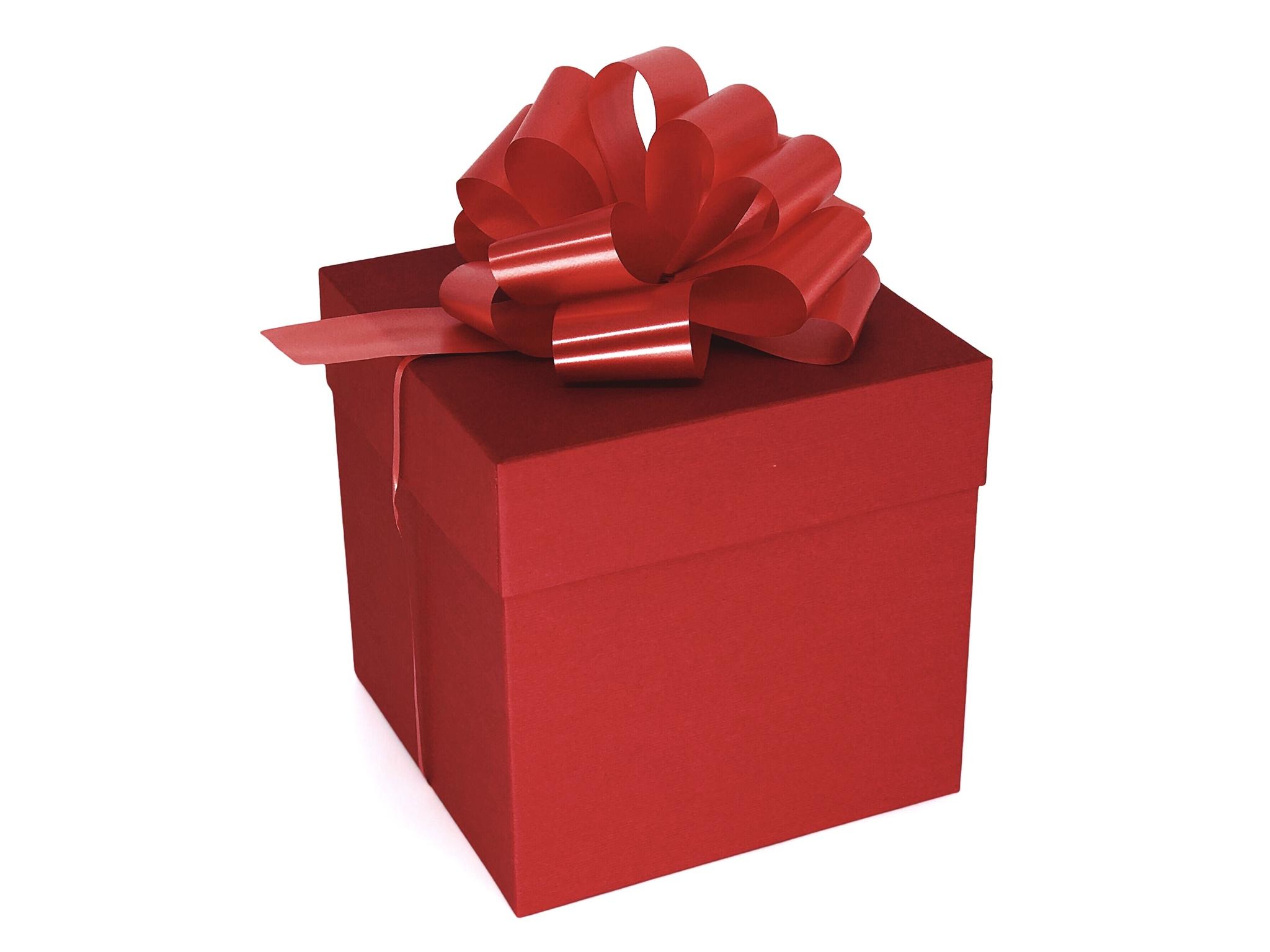 бантик картинка коробка красная обыкновенная фото