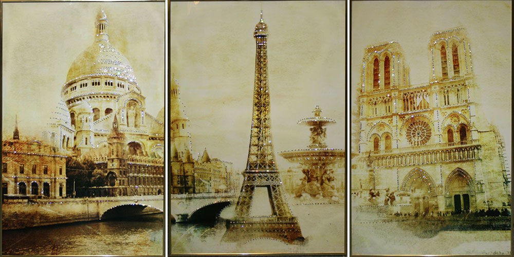 ознакомить фотоколлаж из фотографий париж на стекле очень редким