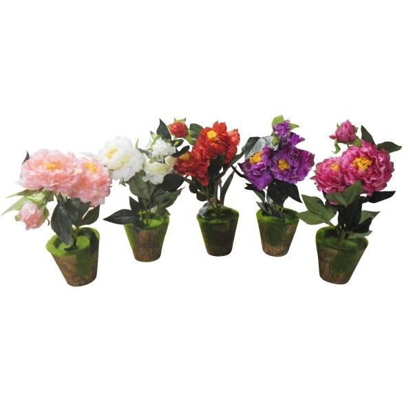 Купить искусственные цветы в горшках в москве