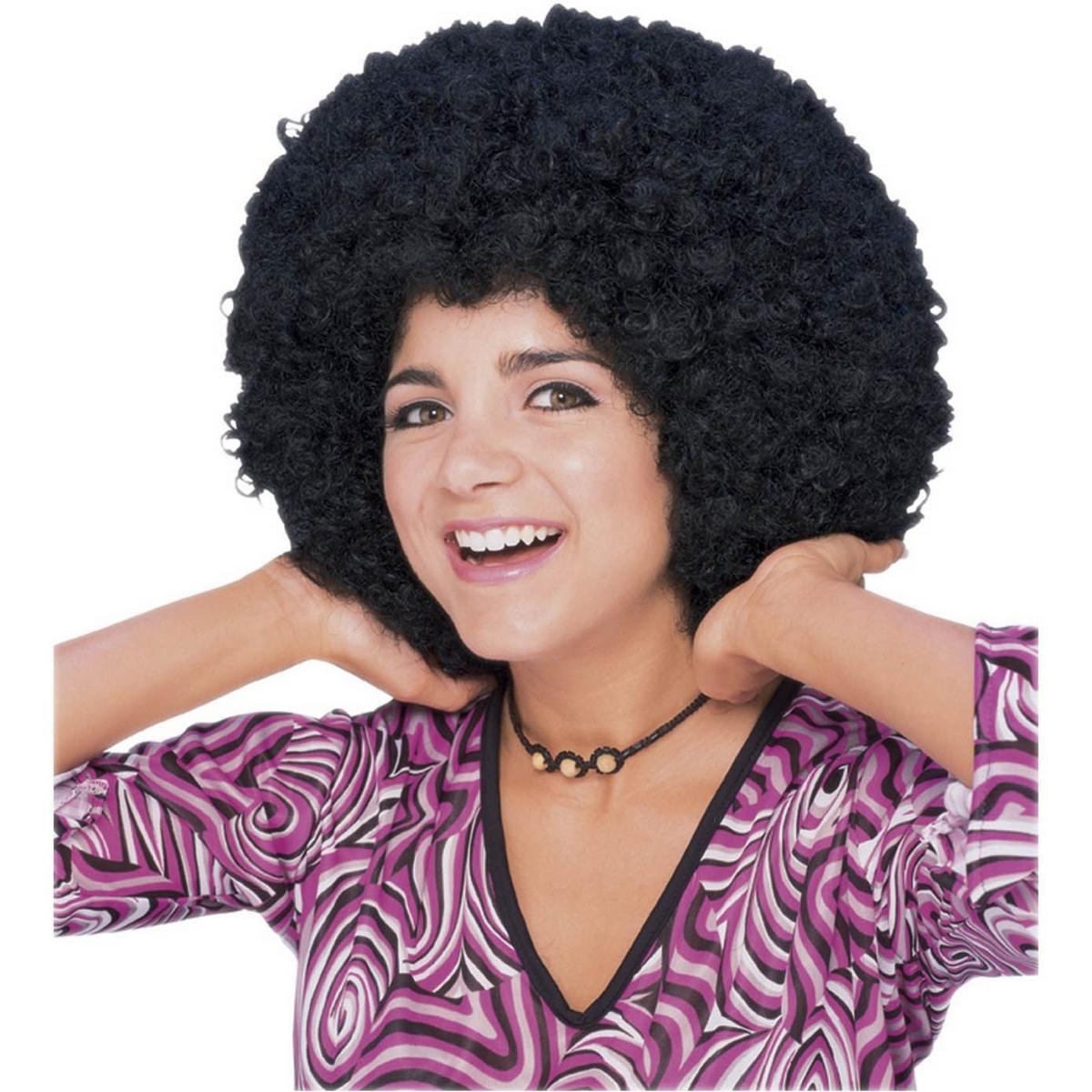 Картинка афро парик
